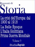 Riassunti di Storia - Volume 9 (ebook)