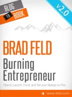 Brad Feld's Burning Entrepreneur - How to Launch, Fund, and Set Your Start-Up On Fire! (ebook)