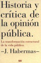 Historia y crítica de la opinión pública (ebook)