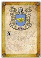Apellido Galera / Origen, Historia y Heráldica de los linajes y apellidos españoles e hispanoamericanos