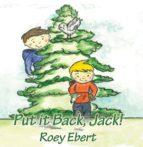 Put it back Jack (ebook)