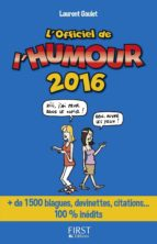 Officiel de l'humour 2016 (ebook)