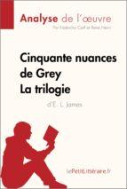 Cinquante nuances de Grey de E. L. James - La trilogie (Fiche de lecture) (ebook)