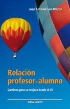 Relación profesor-alumno (ebook)