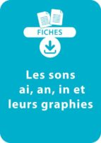 Lecture CP - Les sons ai, an, in et leurs graphies (ebook)
