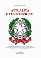 Attualità e Costituzione (ebook)