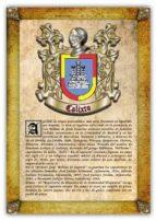 Apellido Calixto / Origen, Historia y Heráldica de los linajes y apellidos españoles e hispanoamericanos