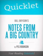 Quicklet on Bill Bryson's Notes from a Big Country (ebook)