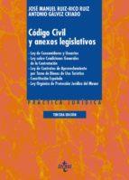 Código Civil y anexos legislativos (ebook)