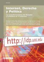 Internet, Derecho y Política (ebook)