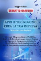 Apri il tuo Negozio - Crea la tua Impresa (ESTRATTO GRATUITO) (ebook)