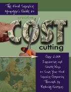 The Food Service Managers Guide to Creative Cost Cutting (ebook)