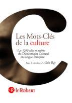 Les Mots-Clés de la culture (ebook)