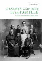 L'examen clinique de la famille (ebook)