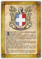 Apellido Lumbiarres / Origen, Historia y Heráldica de los linajes y apellidos españoles e hispanoamericanos