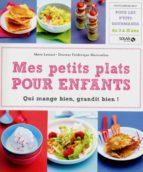 Mes petits plats pour enfants (ebook)