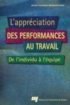 L'appréciation des performances au travail (ebook)