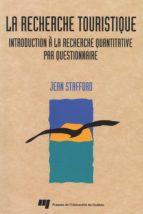 La recherche touristique (ebook)