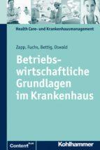 Betriebswirtschaftliche Grundlagen im Krankenhaus (ebook)