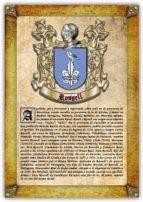 Apellido Rossell / Origen, Historia y Heráldica de los linajes y apellidos españoles e hispanoamericanos
