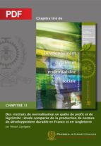 Des instituts de normalisation en quête de profit et de légitimité (Chapitre PDF) (ebook)