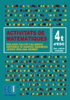 Activitats de Matemàtiques. 4t d'ESO (ebook)