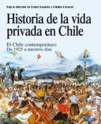 Historia de la vida privada en Chile 3 (ebook)