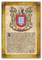 Apellido Cabezas / Origen, Historia y Heráldica de los linajes y apellidos españoles e hispanoamericanos