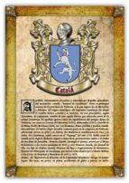 Apellido Catalá / Origen, Historia y Heráldica de los linajes y apellidos españoles e hispanoamericanos