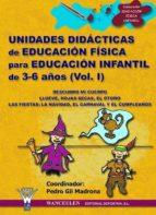 UNIDADES DIDÁCTICAS DE EDUCACIÓN FÍSICA PARA EDUCACIÓN INFANTIL DE 3-6 AÑOS (VOLUMEN I) (ebook)