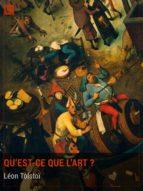 Qu'est-ce que l'art ? (ebook)
