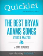 Quicklet on the Best Bryan Adams Songs: Lyrics and Analysis (ebook)