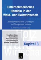 Unternehmerisches Handeln in der Wald- und Holzwirtschaft - Kapitel 3 (ebook)