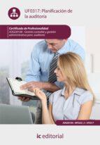 Planificación de la auditoría. ADGD0108  (ebook)