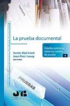 La prueba documental (ebook)