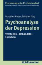 Psychoanalyse der Depression (ebook)