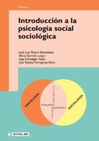 Introducción a la psicología social sociológica (ebook)