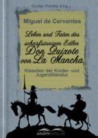 Leben und Taten des scharfsinnigen Edlen Don Quixote von La Mancha (ebook)