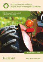 Mantenimiento, preparación y manejo de tractores. AGAF0108  (ebook)