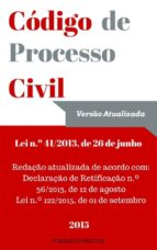 Código de Processo Civil Português (ebook)