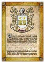 Apellido Genescá / Origen, Historia y Heráldica de los linajes y apellidos españoles e hispanoamericanos
