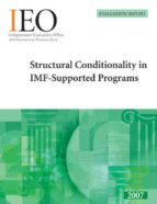 Structural Conditionality in IMF-Supported Programs (ebook)