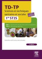 TD-TP Sciences et techniques sanitaires et sociales - 1re ST2S (ebook)
