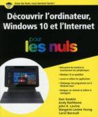 Découvrir l'ordinateur Windows 10 et l'Internet pour les Nuls (ebook)