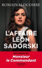 L'Affaire Léon Sadorski (ebook)