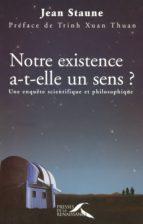 Notre existence a-t-elle un sens ? (ebook)