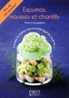 Petit livre de - Espumas, mousses et chantilly (ebook)