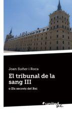 El tribunal de la sang III (ebook)