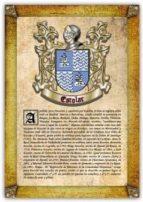 Apellido Escolar / Origen, Historia y Heráldica de los linajes y apellidos españoles e hispanoamericanos