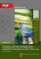 Écologisme et nouveaux mouvement sociaux (Chapitre PDF) (ebook)